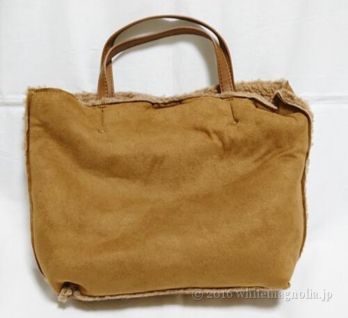 ZOZOUSEDで購入したフェイクムートンバッグ