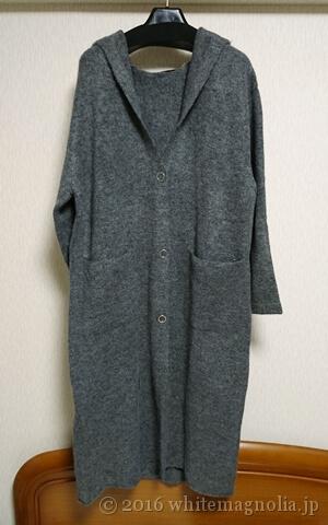 ZARA ロングフード付きジャケット