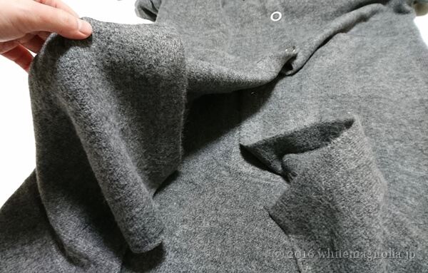 ZARA ロングフード付きジャケット(厚みと落ち感)