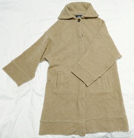 ZARA ハイカラーコート