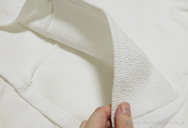 ZARAのバルーンスリーブTシャツ(生地の厚み)