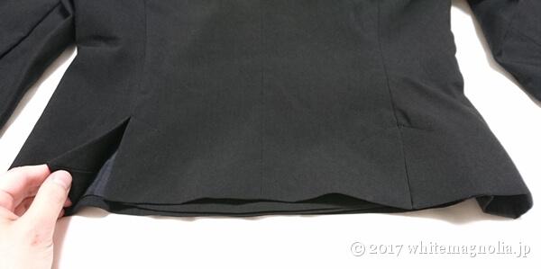 ZARAのダブルブレストVネックジャケット(ベント)
