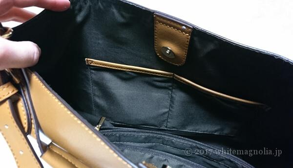 ZOZOUSED VitaFeliceのトートバッグ(内側2)