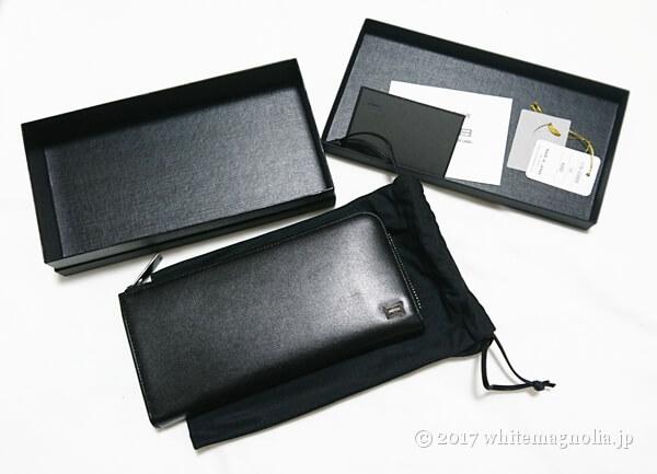 PORTERの長財布(PLUME WALLET 179-03866)